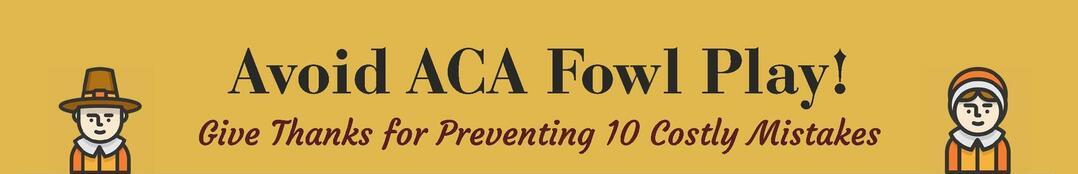 ACA Compliance Mistakes
