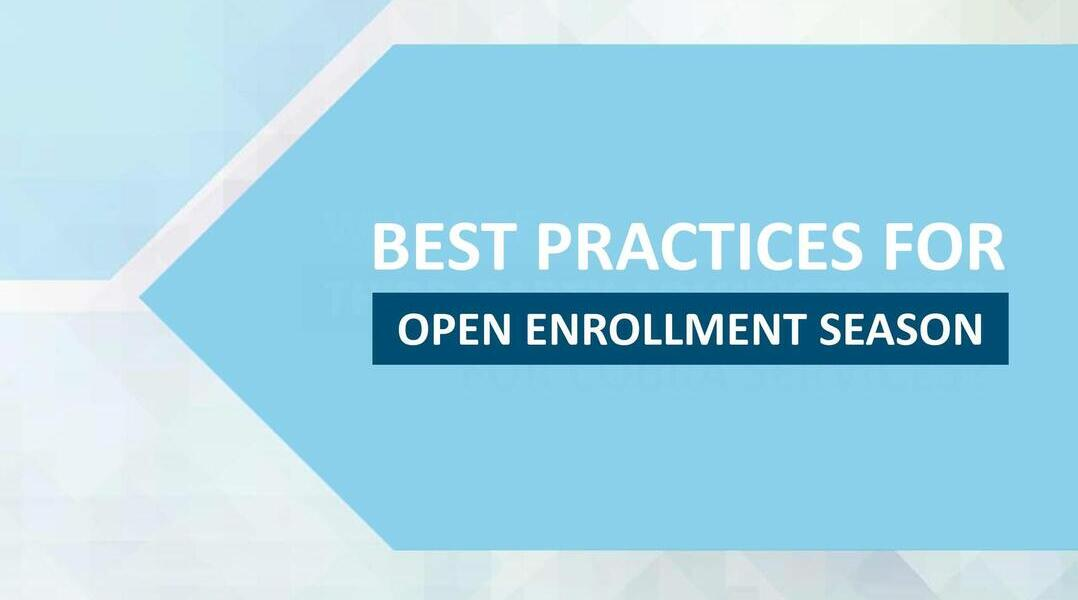 Open Enrollment Best Practices